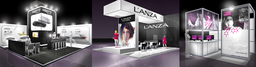 Custom Design Stands Exhibition Systems