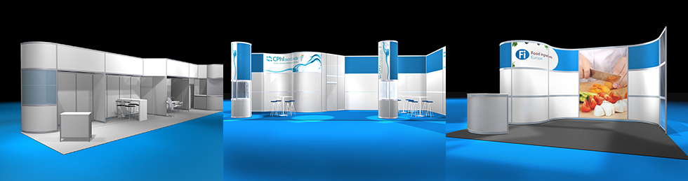 Modular Exhibition Stands Golf : Modular exhibition stand design systems